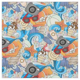 Summer Fun Pattern | Add Your Initial 2 Fabric