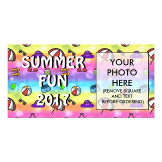 Summer Fun Picture Card