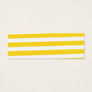 Summer Fun Stripes Mini Business Card