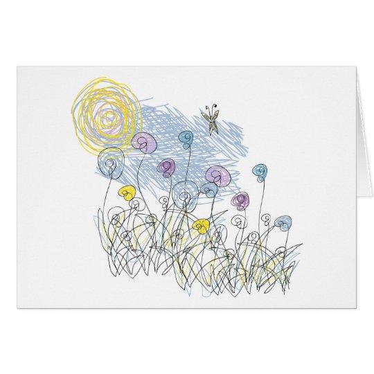 Summer Garden by Cynthia Turner Designs Card
