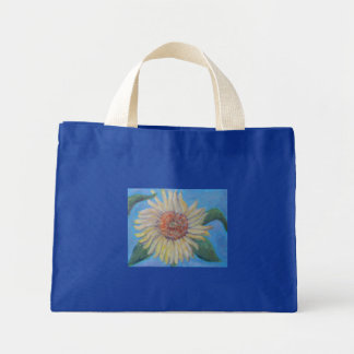 SUMMER GARDEN SUNFLOWER Tote Tote Bags