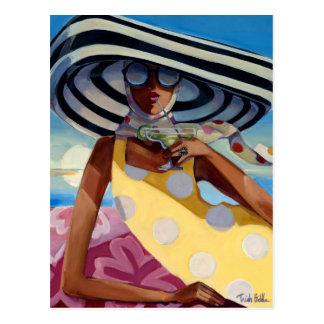 Summer Girl III Postcard