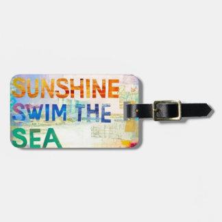 Summer Girl Luggage Tag