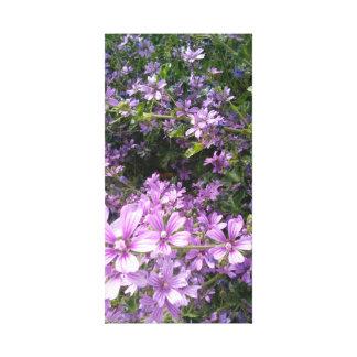 Summer Glory, Purple Wildflower Wall Art