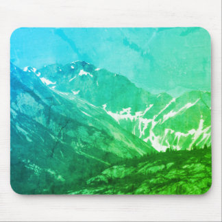 Summer Green Mountains Mousepad