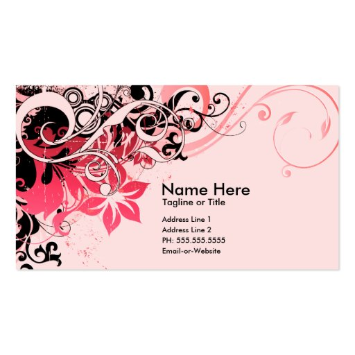 summer hi-fi business cards