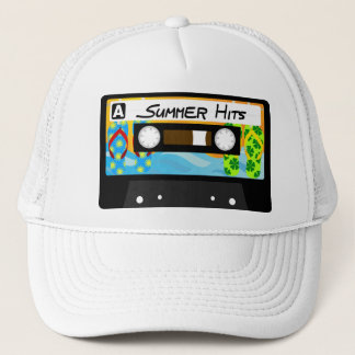 Summer Hits Tape Trucker Hat