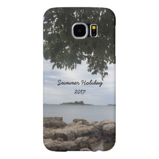 Summer Holiday Mediterranean Sea Photography Samsung Galaxy S6 Cases