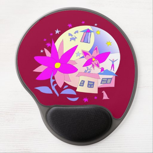 Summer Holidays Gel Mousepad