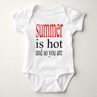 summer hot flirt love sweat couple boyfriend girlf baby bodysuit