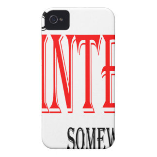 summer hot winter ice hope somewhere worthy electi iPhone 4 covers