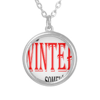 summer hot winter ice hope somewhere worthy electi silver plated necklace