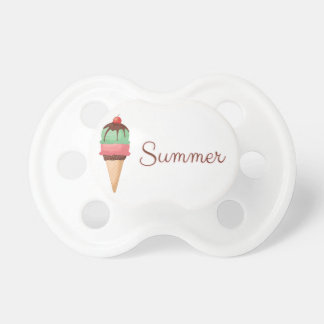Summer Ice Cream Baby Pacifiers