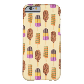 Summer Ice Cream Pops Pattern Barely There iPhone 6 Case