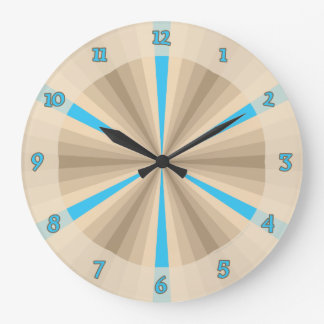 Summer Illusion Clock