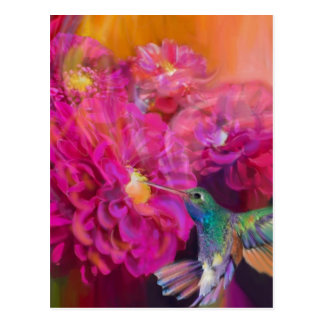 Summer in Full Bloom Postcard