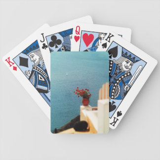 Summer in Greece! Bicycle Playing Cards