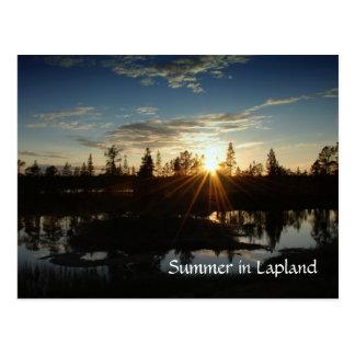 Summer in Lapland - Postcard