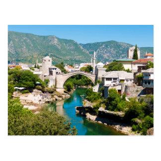 Summer in Mostar Postcard