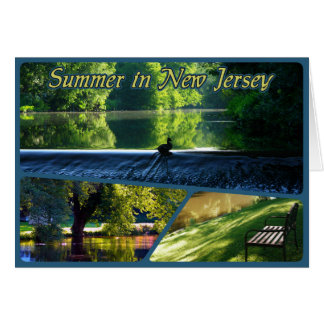 Summer in New Jersey Card