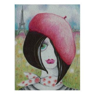 Summer in Paris Postcard