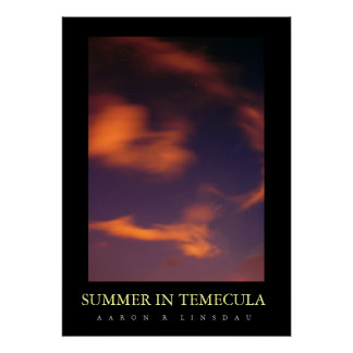 SUMMER IN TEMECULA POSTER