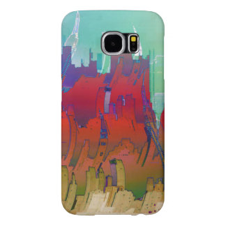 """""""Summer In The City"""" Samsung Galaxy S6 Cases"""