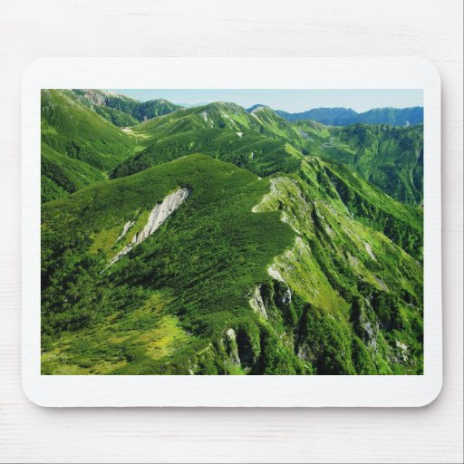 Summer in the Mountains Mouse Pads