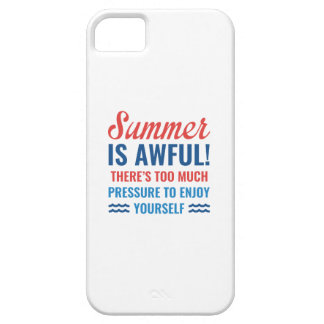 Summer Is Awful iPhone 5 Cover
