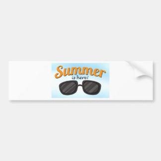 Summer is here bumper sticker