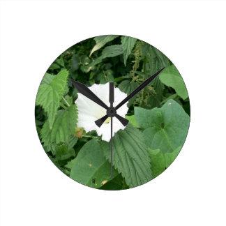 Summer Ivy Clock