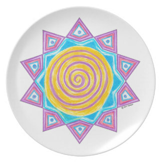 Summer Joy Star Plate