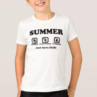 Summer Kids' Basic T-Shirt