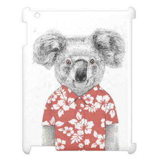Summer koala (red) case for the iPad 2 3 4