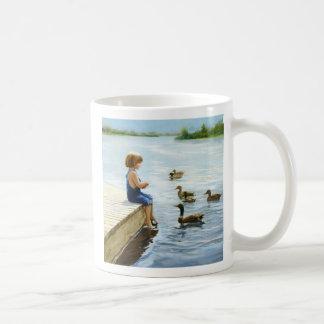Summer Lake Classic White Coffee Mug