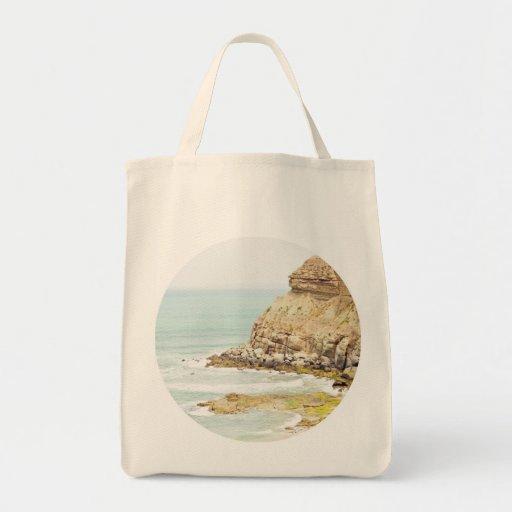 Summer Landscape Tote Canvas Bags