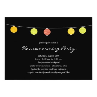 Summer Lanterns Party Invitations
