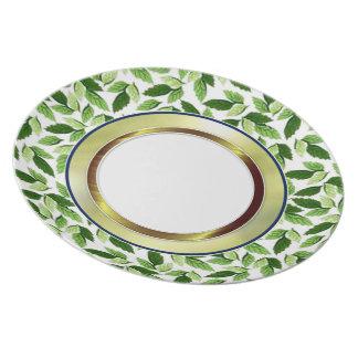 Summer Leaves Dinner Plate
