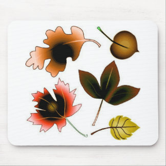 SUMMER LEAVES MOUSE PADS