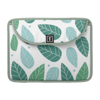 Summer Leaves Sleeve for Macbook Pro