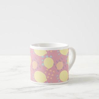 Summer Lemon Blast Espresso Cup