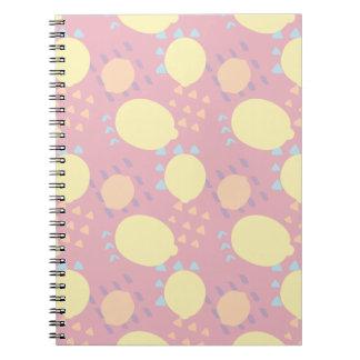 Summer Lemon Blast Notebook