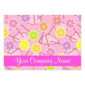 Summer Lollipop Candy Shop Bakery Business Card