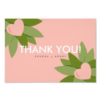Summer Love Garden 02 (Thank You) Card