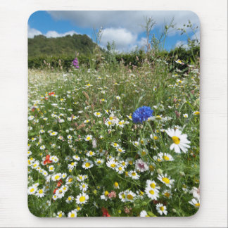 Summer Meadow Mouse Pads