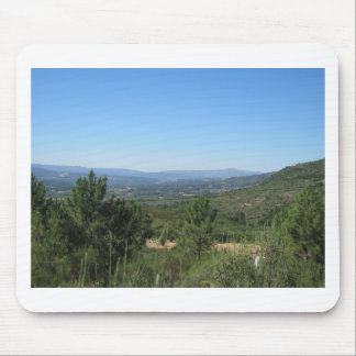 Summer mountains mouse pad