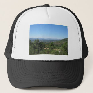 Summer mountains trucker hat