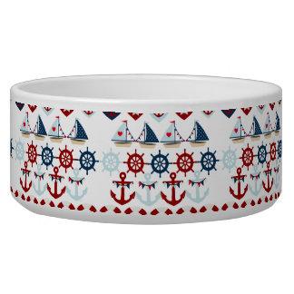 Summer Nautical Theme Anchors Sail Boats Helms