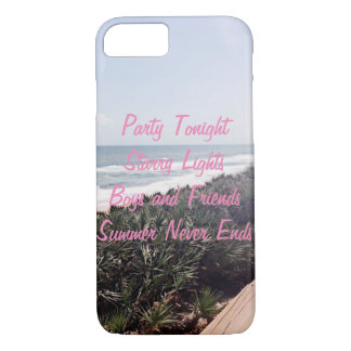 Summer Never Ends iPhone 7 Case