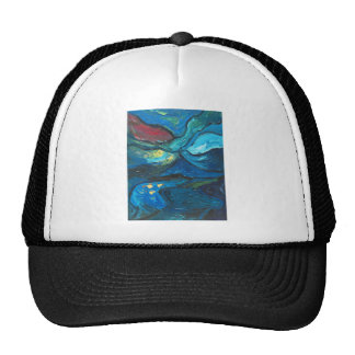 Summer Night (abstract expressionism landscape) Cap